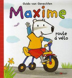Maxime a un nouveau vélo à trois roues dont il est tout fier. Il est particulièrement fasciné par le klaxon. Quand il klaxonne « Tû-tûûût! » tout le monde le regarde. Maxime pédale sur son nouveau vélo. Lors de sa promenade, il rencontre Marie et Mariette sur leur trottinette, Émile sur son tracteur, Tom et Victor avec leur chariot. Soudain, la roue du vélo heurte un caillou et ... Si vous le lisez, vous connaitrez la fin de cette adorable histoire sur l'amitié, l'entraide et la prudence. Mariette, Caillou, Snoopy, Comics, Fictional Characters, Collection, Kick Scooter, Wheels, Dating