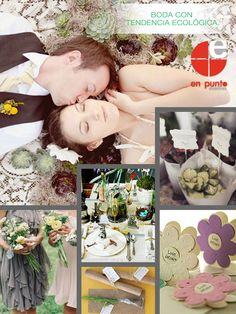 """BODA CON TENDENCIA ECOLÓGICA.  Las tendencias para bodas ecológicas en 2013 marcan que será una idea """"verde"""" si utilizas estos materiales amigables con el planeta (además será hermoso)."""