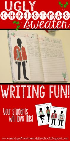 Just in time for the holidays... Your students are going to love this writing activity!!
