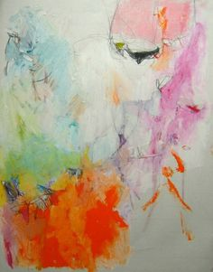 Le Fruit de l'Amour by Mary Ann Wakeley  #art #abstract #paintings