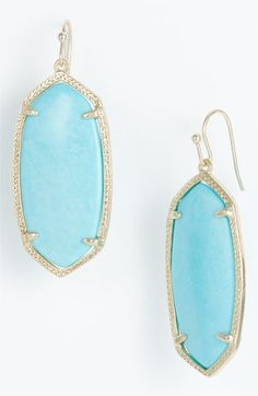 Crazy gorgeous  - Kendra Scott Elle earrings in turquoise