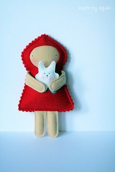 little red riding hood - I NEED TO MAKE THIS LOL sooooo cute!