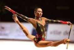 Aliya Yusupova (Kazakhstan), Grand Prix (Thiais, France) 2006 (Photo by Tom Theobald)