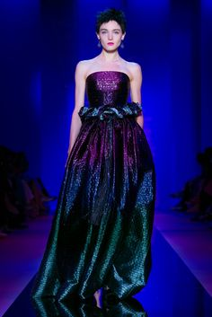 A look from the Armani Privé Fall 2015 Couture collection.