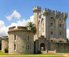 Arteaga Tower, Biscay, Basque Country, Spain. www.castlesandmanorhouses.com The Arteaga Tower is a medieval castle rebuilt in the 19th Century for the French empress Eugénie de Montijo. Napoleon III and Eugénie had it rebuilt when their son was...