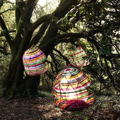 Tropicalia Cocoon Swing designed by Patricia Urquiola