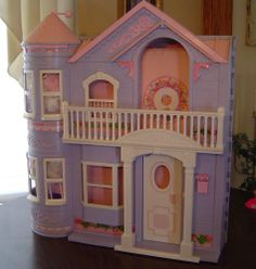 Barbie Victorian Dream House by Mattel, 1990's