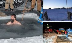 Antarctica researchers celebrate winter solstice in two DEGREE water