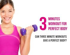 Workouts Plans for Lazy People | just 3 minutes workouts for perfect body - Web Health Journal