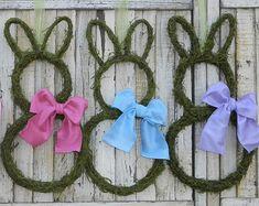 Primitive Wreath  Spring Wreath   Spring by EverBloomingOriginal