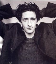 Adrien Brody And I like this one cuz this is your exact face