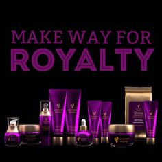 New products, new packaging! Make way for Younique Royalty!