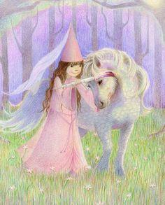 la princesita y el unicornio