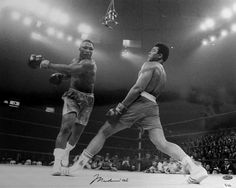Muhammad Ali vs Joe Frazier  Boxing