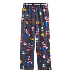 Boys 4-16 Super Mario Bros. Lounge Pants, Multicolor