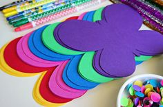 genesis - God's creation - Toddler Butterfly Crafts.