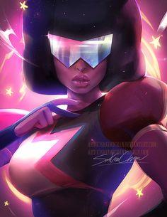 Steven Universe Garnet by sakimichan on DeviantArt