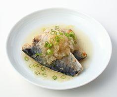 MUJI - salted boiled mackerel and radish