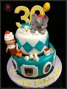 CAROUSEL CAKE- pubblicato in Cucina Chic Cake Design n掳20/21 by ...