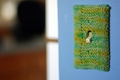 Knitting | 19 Adorable Ways To Decorate A Light Switch Cover