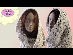 Crochet Infinity Scarf - Aquatic Blossom | Crochet Geek