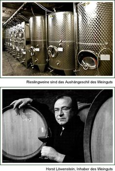 Winemaker Horst Löwenstein, Winningen Mosel