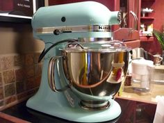 Kitchenaid Artisan Ice Blue Mixer