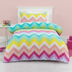 Kids House Zahara Quilt Cover Set Multicoloured