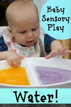 baby sensory play with water from http://theimaginationtree.com
