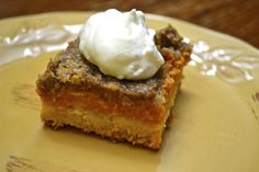 Easy Pumpkin Pie Dessert - WW 5 PointsPlus