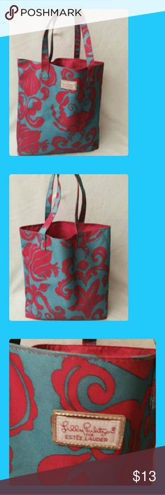 Lilly Pulitzer Tote Very nice. Very good condition. Lilly Pulitzer Bags Totes