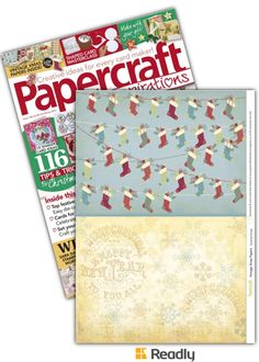 Suggestion about Papercraft Inspirations Xmas 2015 page 41