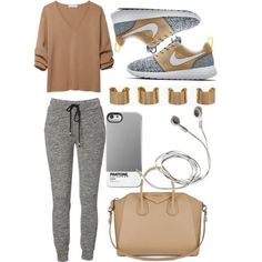 Read Tenue de sport from the story Book photo by tunisienneuuuh (PRINCESS 216 🇹🇳👑) with reads. Cute Sporty Outfits, Lazy Day Outfits, Casual Outfits, Sporty Chic, Casual Wear, Winter Outfits, Teen Fashion, Winter Fashion, Womens Fashion