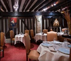 two Starred Michelin Restaurant – Relais Louis XIII Menu: 50€ (lunch) , 80€ - 135€ Carte approx.: 115€ Open Tuesdays to Saturdays from 12.15pm to 2.30pm and from 7.30pm to 10.30pm.