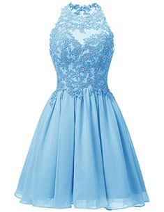 Dresstells® Short Chiffon Halter Neck Prom Dress With... https://www.amazon.co.uk/dp/B01JS1AIMQ/ref=cm_sw_r_pi_dp_x_CcTQxbT2Y5CZS