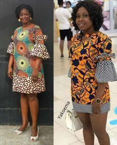 African Fashion Ankara, Latest African Fashion Dresses, African Print Fashion, Africa Fashion, African Fashion Designers, African Dress Patterns, Short African Dresses, African Blouses, Ankara Dress Styles