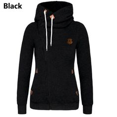 Hot new Assassin's Creed style women's hoodies now available! - Material: High quality Cotton, Nylon - Type: Hoodie, Sweatshirt, Fleece - Style: Side zip pullover hoodie - Gender: Women - Colors: Red,