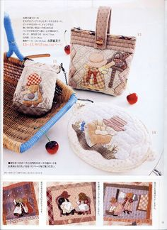 Patchwork Quilt Tsushin 139 - 13  a nice shape - Picasa Web Albums