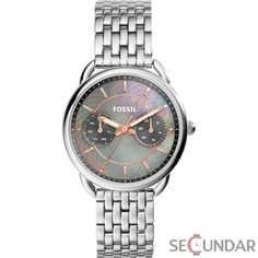 Shop for Fossil Women's Tailor Multi-Function Grey Mother Of Pearl Dial Stainless Steel Bracelet Watch. Get free delivery On EVERYTHING* Overstock - Your Online Watches Store! Stainless Steel Jewelry, Stainless Steel Watch, Ring Watch, Bracelet Watch, Fossil Jewelry, Jewelry Watches, Fossil Watches, Women's Watches, Ladies Watches