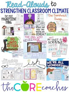 Strengthen classroom climate with these books
