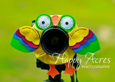 Lens Bling - Pet Yellow Parrot