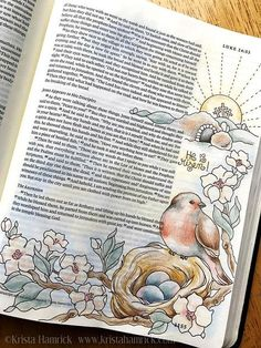 He is Risen! Bible Journaling Traceable, 6X8 Perfect for Bible Journaling, this traceable depicts Luke 24:5,6. Simply trim to size, and slip behind your Bible page for easy tracing. See example of my original Bible page for inspiration. (Color image not included in this download.) The