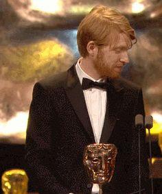 Poe Dameron You're Alive — 12ththeatre:   Domhnall Lovely Gleeson in BAFTA