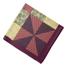 Vintage Quilting Pattern 1 - Bandana