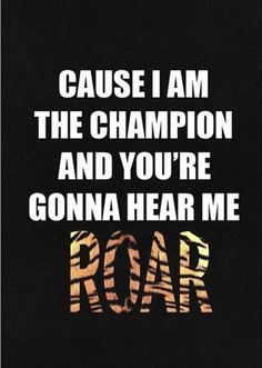 This as a shirt too!!! Roar: Katy Perry @Crystal Chou Sewell @M Z Mahle