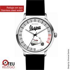 Mostrar detalhes para Relógio de pulso OTR VESPA MOTO 018