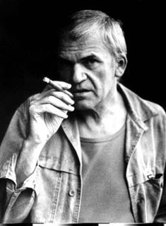 Milan Kundera (1929) s the Czech Republic's most recognized living writer. He has lived in exile in France since 1975, having become a naturalised citizen in 1981. Kundera's best-known work is The Unbearable Lightness of Being. His books were banned by the Communist regimes of Czechoslovakia until 1989. He lives virtually incognito and rarely speaks to the media. A perennial contender for the Nobel Prize in Literature, he has been nominated on several occasions.