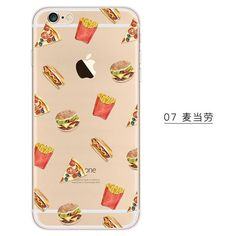 FREE Burgers and Fries Fun Pattern Phone Case (JUST PAY SHIPPING)