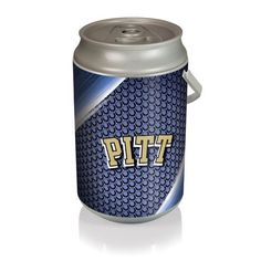 Mega Can Cooler - Silver/Gray (University of Pittsburgh - Panthers) Digital Print