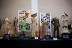 """June 4, 2011 - Beverly Hills, California, United States: The stunning collection of Hollywood's most iconic costumes owned by actress, Debbie Reynolds. Items will be on display for public viewing and auctioned off at """"Debbie Reynolds: The Auction"""", which will be held June 18, at the Paley Center for Media in Beverly Hills. Marilyn Monroe's white halterneck dress from The Seven Year Itch was the top lot, fetching $4.6 million. Reynolds had bought it for $200. Judy Garland's blue gingham…"""